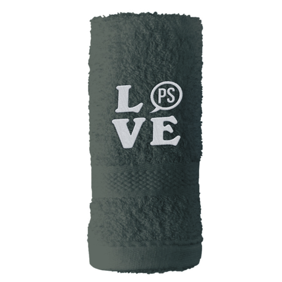 PS LOVE törölköző 70x140 cm