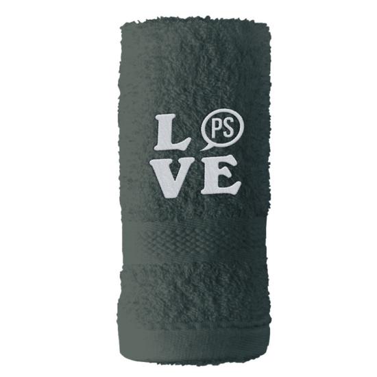PS LOVE törölköző 50x100 cm